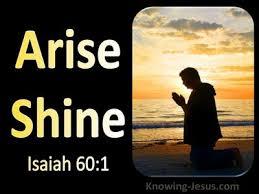 Isaiah 60:1 Inspirational Images