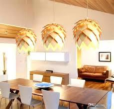 enchanting modern hanging lights handmade hanging lights wooden led pendant lights modern handmade puzzles home restaurant hanging pine cone wood handmade