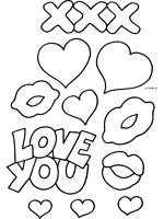 Pin Graffiti Love Kleurplaat On Pinterest Sketch Coloring Page