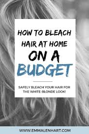 Find Out How To Bleach Hair