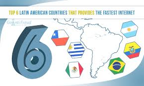 top 6 latin american countries that