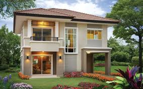 Two Storey 3 Bedroom House Design