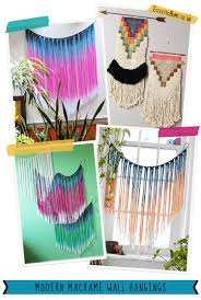 gorgeous modern macrame wall hangings find out where to get them at eclectichome co