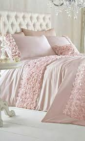 image of shabby chic bedding diy