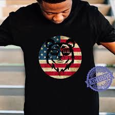 Mama Bear Shirt Vintage Mama Bear Mothers day USA Flag Shirt