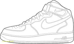 Air Jordan Coloring Pages Shoes With Direct Fresh Basketball Copy