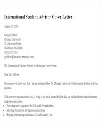 Sample Cover Letter For College Students Cover Letter For High
