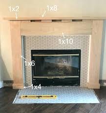 diy fireplace surround diy faux fireplace mantel and surround easy diy wood fireplace surround