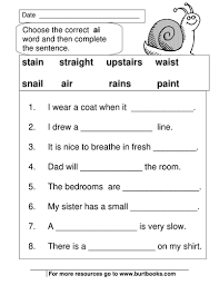 This book follows the 'letters and sounds' programme, and covers ay, ou, ie, ea, oy, ir, ue, aw, wh, ph, ew, oe. Phonics Worksheets Ai And Ay Sounds Teaching Resources