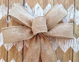 Burlap Decorative Bows / Small Burlap Bows / Burlap Decor Bows / Set of 10 /
