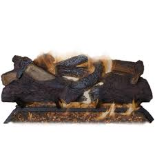 emberglow canyon campfire 24 in vented natural gas fireplace logs