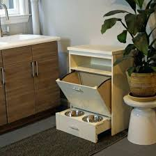 dog storage furniture. Pet Pantry Diner Food Storage And Dining Station In One Feed Furniture Island Dog A