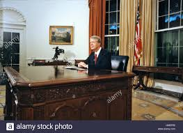 jimmy carter oval office. United States President Jimmy Carter Delivers His Address To The Nation On Inflation From Oval Office Of White House In Washington, DC October 24 Alamy