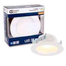 contemporary recessed lighting. White Integrated LED Recessed Trim, 2700K Contemporary Recessed Lighting R