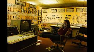 nuclear power plant abandoned inside the control room power still  nuclear power plant abandoned inside the control room power still on