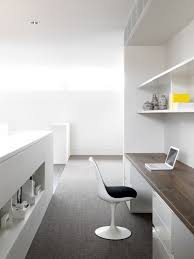 home office white. Stylish Minimalist Home Office Designs White