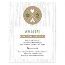 Print Save The Date Cards Plantable Seed Save The Date Cards Catalog Botanical Paperworks