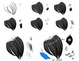 new tutorial hair by konataidzumi