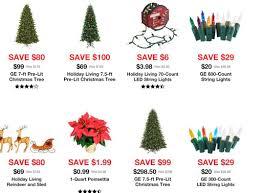 Lowes Lighting Sale Bathroom Sears Artificial Christmas Trees With Lights