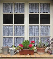 Kitchen Cafe Curtains Cafe Curtains White Lace Curtains French Lace Curtain White