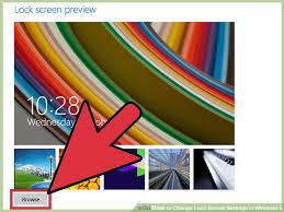 windows 8 1 lock screen wallpaper. Modren Windows Image Titled Change Lock Screen Settings In Windows 8 Step 6 Inside 1 Wallpaper E