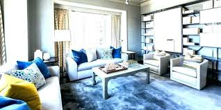 gray and navy living room grey blue yellow black white