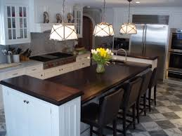 Two Level Kitchen Island Delighful Kitchen Island 2 Levels Gourmet Kitchens And Abinets