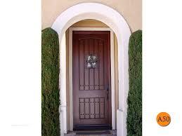 rustic fiberglass front entry door single 36x96 8 foot tall jeld wen