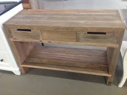 Heritage made to order recycled timber vanity