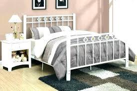 Beautiful Wrought Iron Bed Frame Black Double Ikea Queen King Twin ...