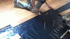 how to install pergo laminate flooring on concrete suloor