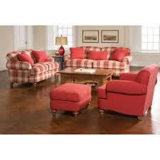 Broyhill Plaid Sofa Love Grows Design