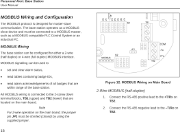 user guide 575913 page 26 with modbus rs485 wiring diagram wiring rs485 2 wire vs 4 wire user guide 575913 page 26 with modbus rs485 wiring diagram