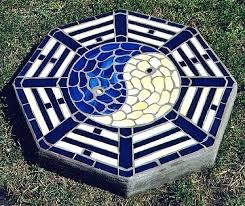 stained glass stepping stones stained glass stepping stones made on island near island stained glass stepping stained glass stepping stones