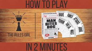How To Play Man Bites Dog In 2 Minutes The Rules Girl Youtube