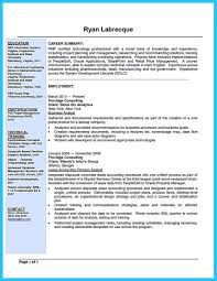 Resume Examples Business Analyst Resumes Samples Business Resume