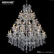 luxurious large crystal chandelier lighting maria theresa crystal light for hotel project restaurant res luminaria lamp luxurious crystal chandelier