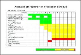 Film Production Calendar Template Post Production Schedule Template Film Production Schedule Template