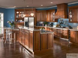 An Open Kitchen With A Multi Height Island Thats Great For