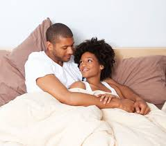 Lovely Couple In Bed Lying In Bedroom Romantic Things Ghanaian Couples Can Do After Making Love