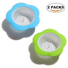 Amazoncom 2pcs Flower Kitchen Sink Strainers Plastic Drain Basket