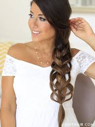 Luxy Hair Style how to feather loop braid hair tutorial luxy hair 1778 by wearticles.com