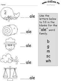 Word Families Template Free Printable Word Family Worksheets