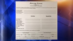 Marriage Licenses 2 Kentucky Have Could
