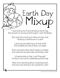 Earth Day Activities Kindergarten Free Coloring Pages Printable ...