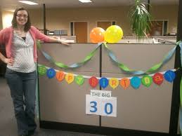 decorations for office cubicle. Image Of: Simple Cubicle Birthday Decorations For Office