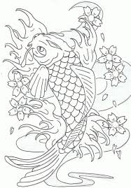 Print download cute and educative fish coloring pages. 7255 Pictures To Color Koi Fish Animal Coloring Page To Print For 287778 Koi Fish Coloring Page Fish Coloring Page Animal Coloring Pages Koi Fish Colors