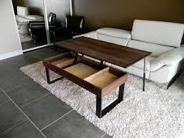 improbable table modern adjustable height expandable adjustable height coffee table with storage adjustable cafe table jpg