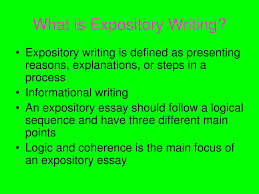 Define Expository Essay Ppt Expository Writing Powerpoint Presentation Id 5873251
