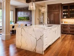 we call this bookmatching and allows you to have a continuous design element in your islands countertops and vertical walls the design will stand out